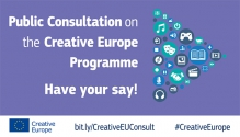 CONSULTATION PUBLIQUE SUR LE PROGRAMME EUROPE CREATIVE